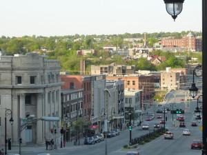 Le centre-ville de Sherbrooke - photo par Marianne Verville