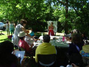 """Atelier d'écriture """"in situ"""" - Maison des arts et de la culture de Brompton - 30 juillet 2017"""