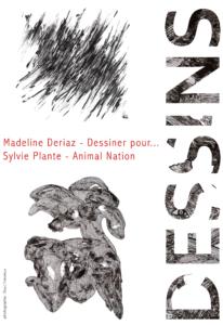 Affiche de l'exposition Dessins